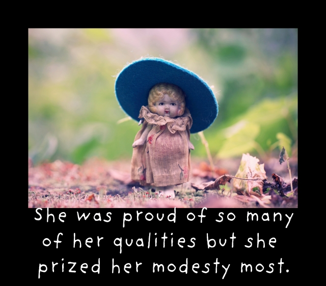 modesty was her best quality
