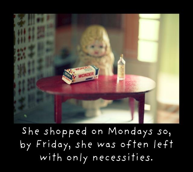 the necessities Claudia