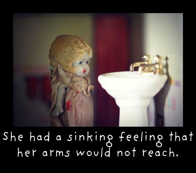 sinking feeling claudia
