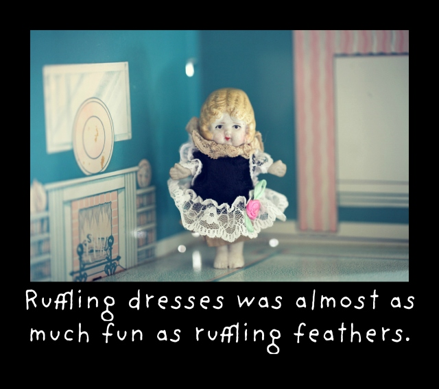 ruffling feathers dresses