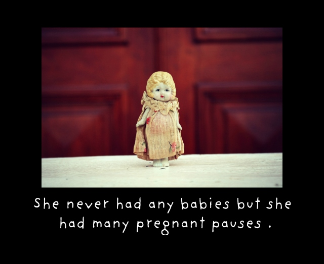 pregnant pauses card crop claudia