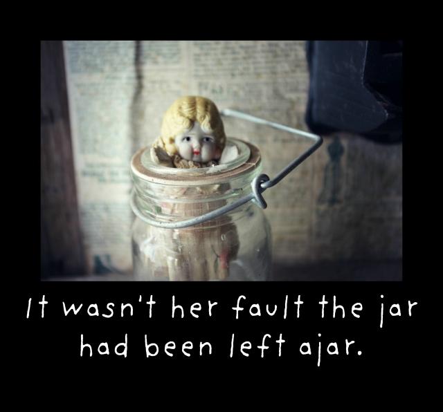 The jar was ajar claudia