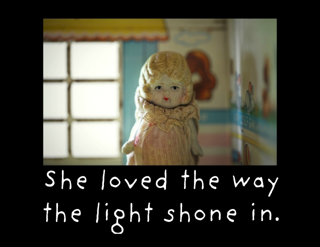 the light shone in