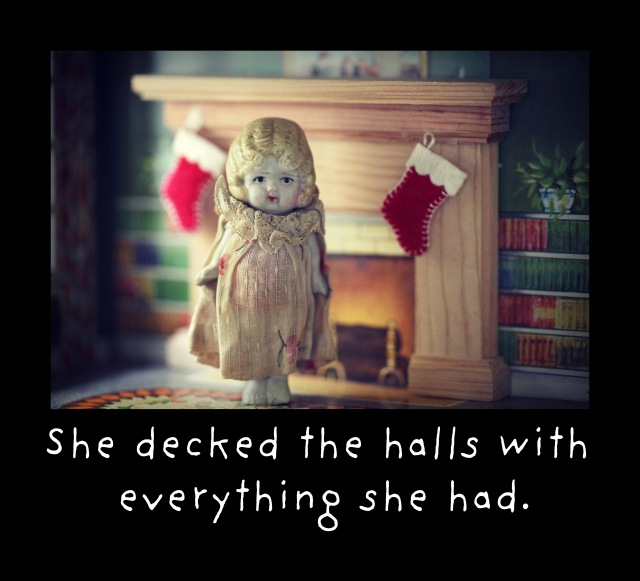 claudia holiday decking the halls