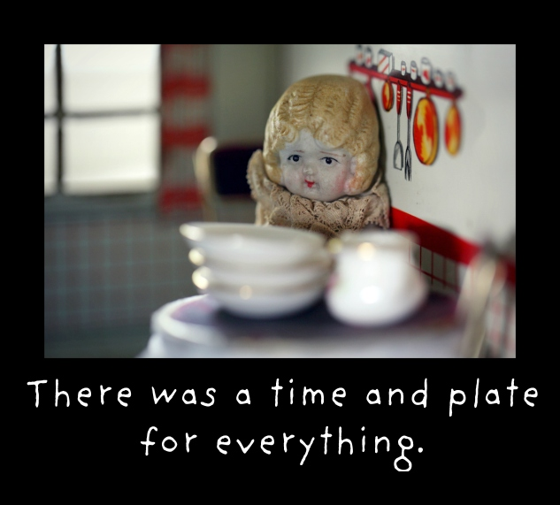 time and plate claudia