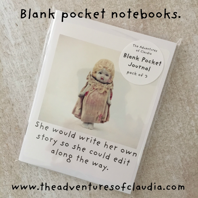 blank pocket notebooks claudia write her own story instagram