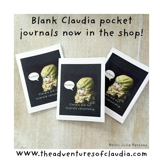 claudia censorship journal blank notebook  instagram