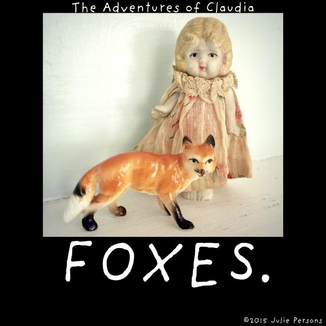 Claudia foxes fox instagram
