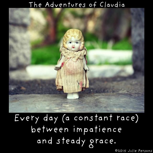 Claudia impatience grace instagram