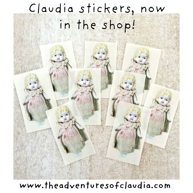 Claudia shape stickers 1 instagram