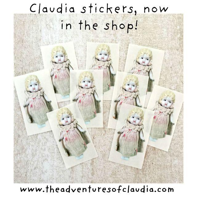 Claudia shape stickers 1 instagram