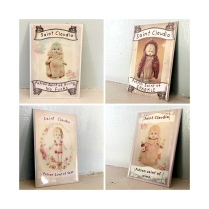 Claudia magnet set patron 4 framed