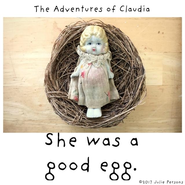 Claudia nest good egg square