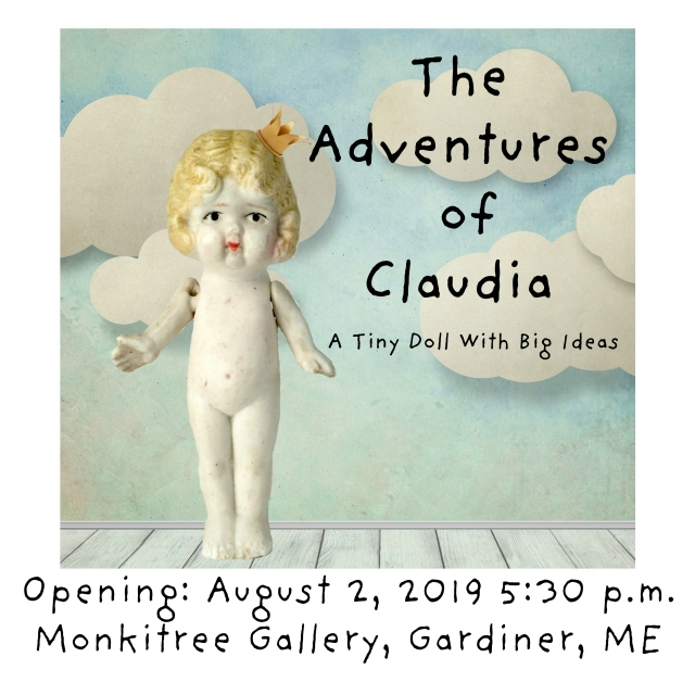 The adventures of claudia a tiny doll with big ideas graphic square info